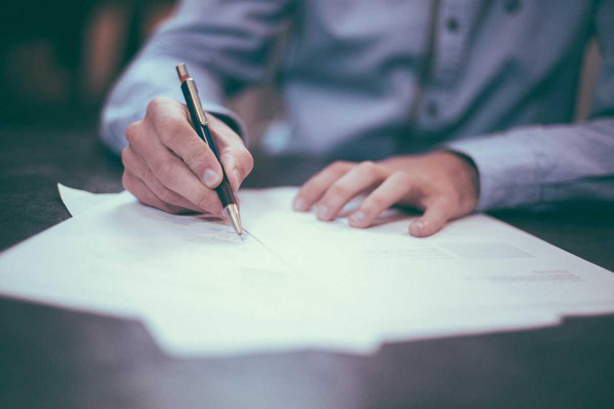 Investigative paperwork