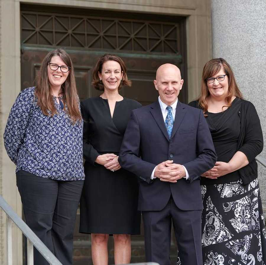 Group photo of the Davis Law Group team.