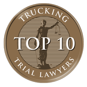 Trucking top 10 trial lawyers award
