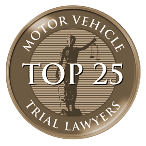 motor vehicle top 25 trial lawyers award
