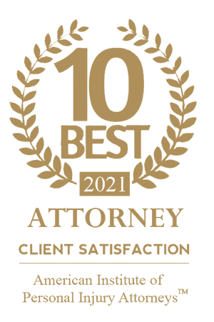 American Institute of Personal Injury Attorneys 10 Best of 2021
